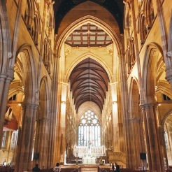 The Cathedral's interior