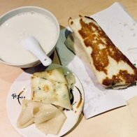 Famous Egg Pancake and Soy Milk at Fou Hang Dou Jang
