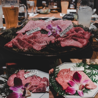 Matsusaka Beef in Dotonbori! Definitely a must try! You have to reserve a table to eat here.
